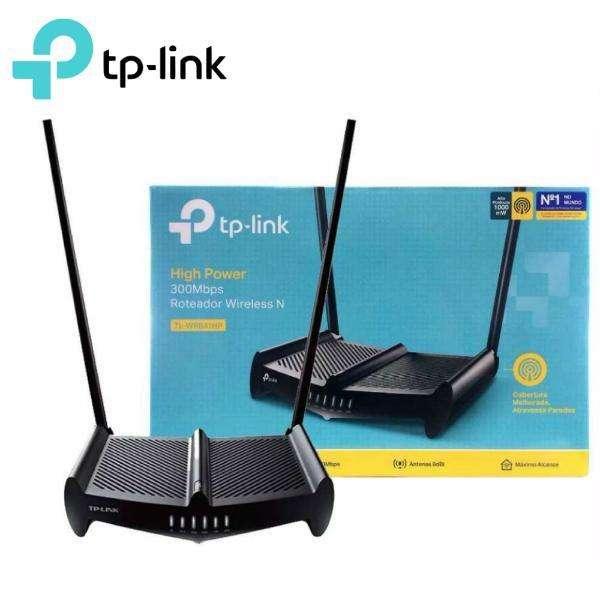 Router Inalambrico Tplink de alta potencia Rompemuros 300mbps, Antenas de 9dbi. tlwr841hp.