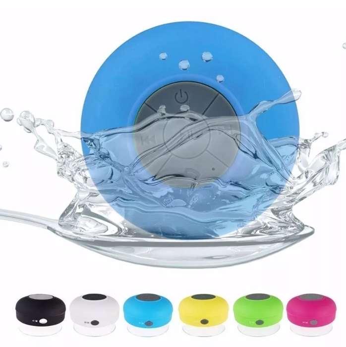 Mini Parlante Ducha Bluetooth Inalámbrico Impermeable