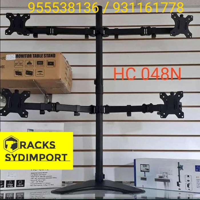 <strong>rack</strong>s 4 Monitores