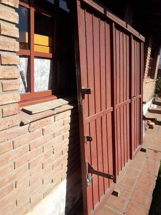 Porton de Chapa Y Caño con Puerta