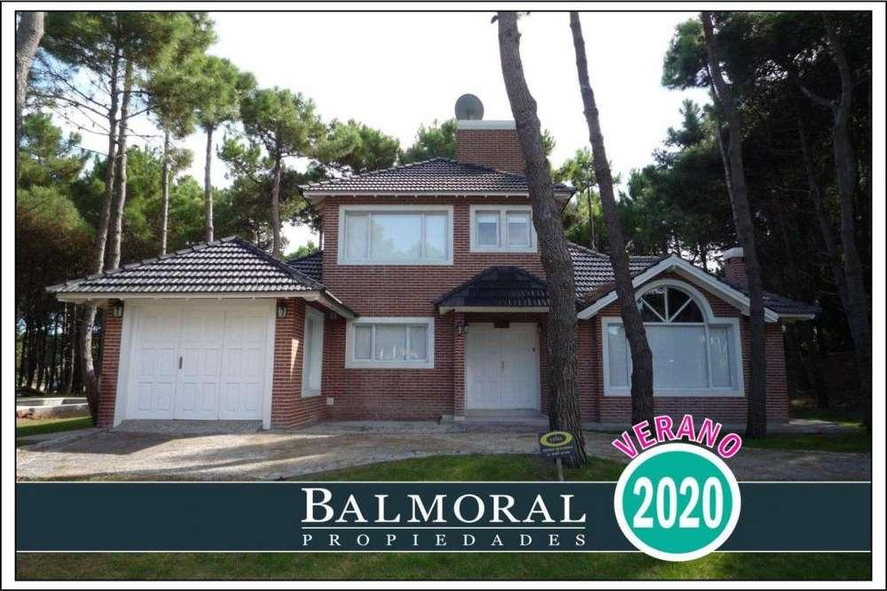 Ref: 8729 - Casa en alquiler, Pinamar, Zona Norte Tennis