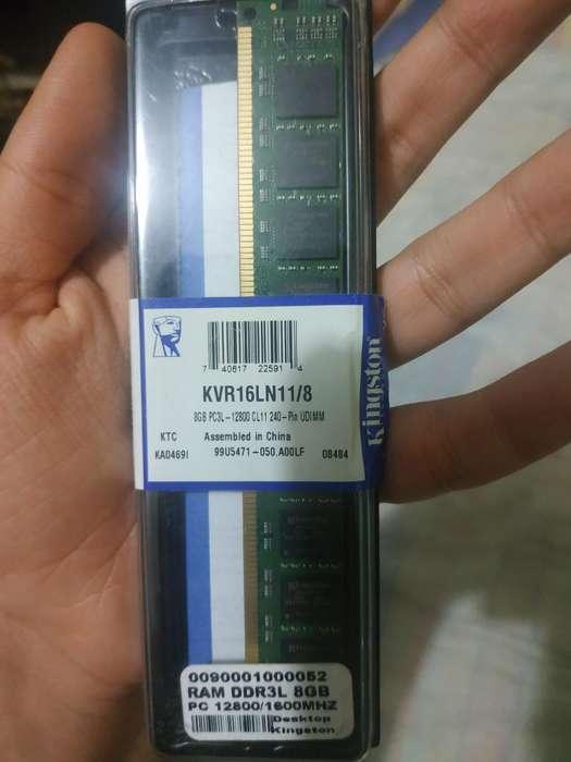 Vendo Memoria Ram Pc 8gb Dr3