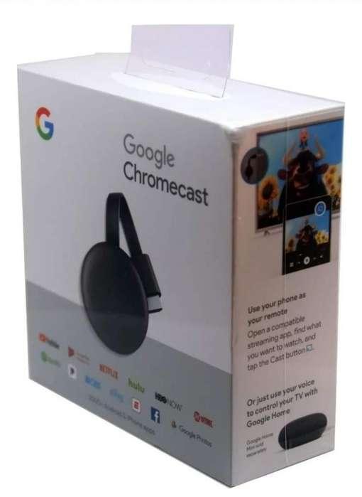 Chromecast Tercera Generacion