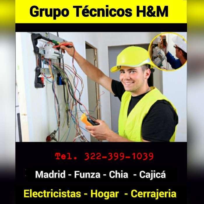 Servicio Técnico Electricista en Madrid