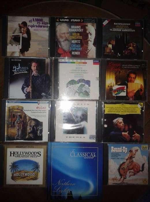 MUSICA CLASICA 800 CDS, Y 500 LONG PLAYS