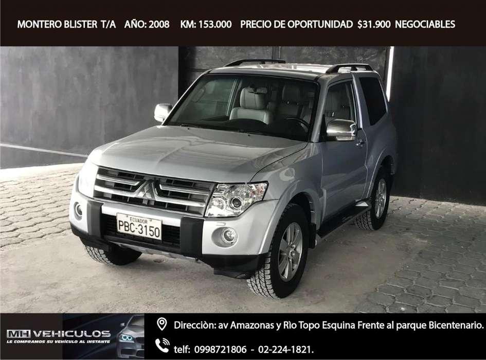 Mitsubishi Montero 2008 - 153000 km