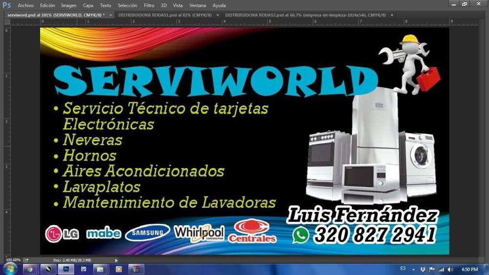 Servicio tcnico y mantenimiento de lavadora neveras