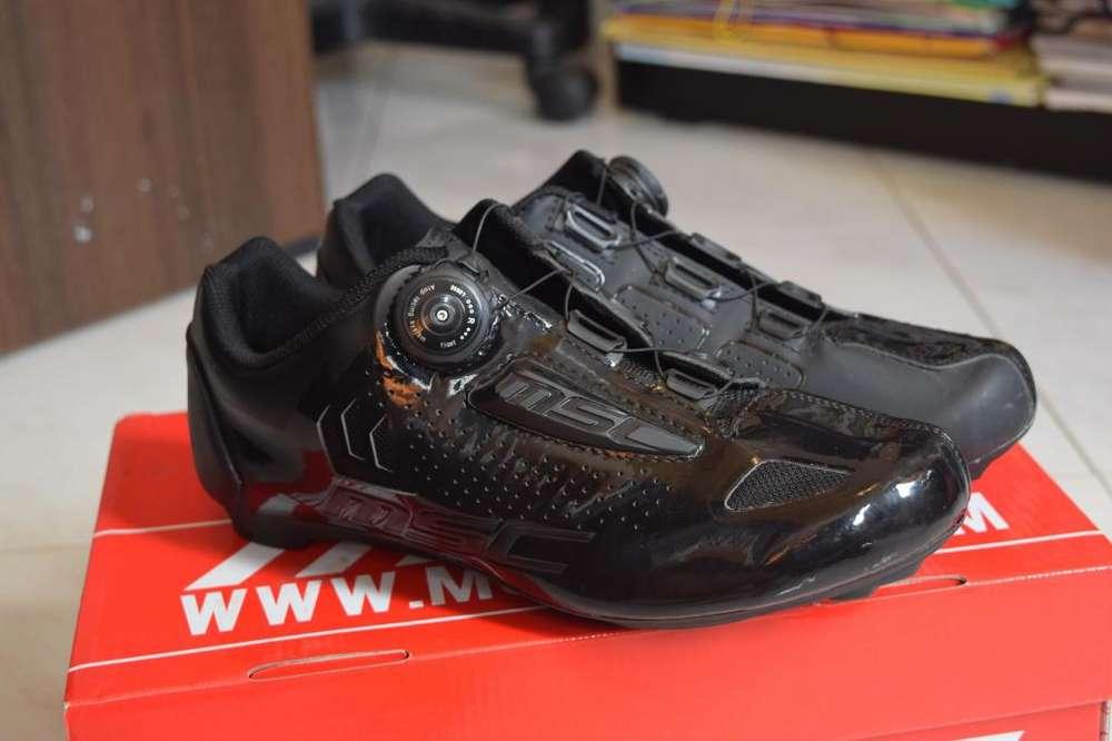 Zapatillas de ciclismo ruta o mtb msc nuevas!! talla 42eu
