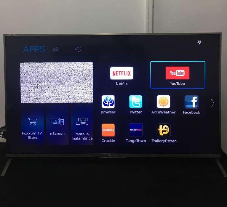 Smart Tv 4k 55 pulgadas Ken Brown Kb55t6600suh Netflix