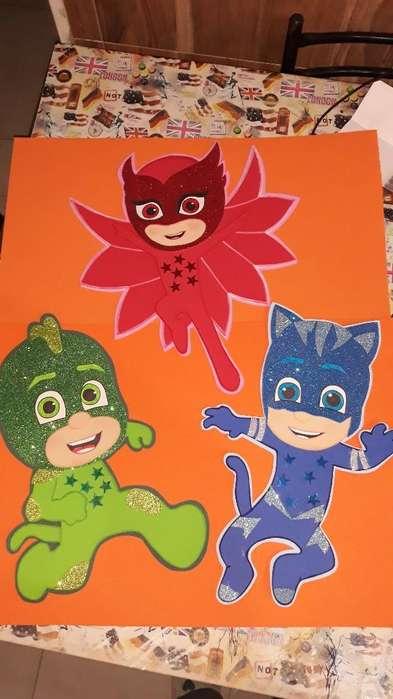 Heroes en Pijamas para Tu Cumpleaños
