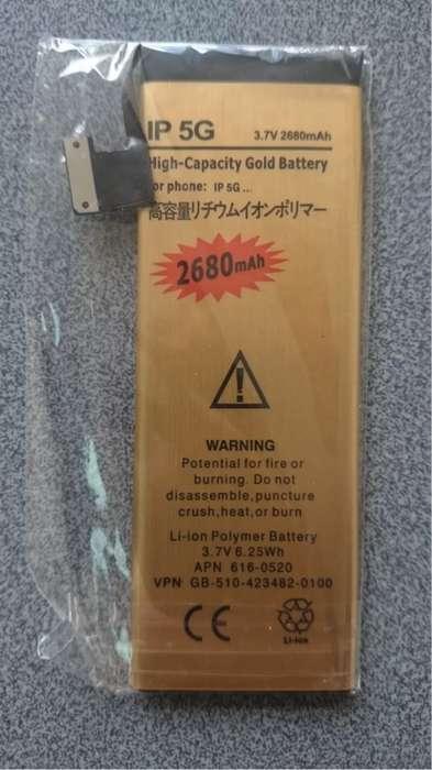 Batería Premium Larga Duración Iphone 5 De 2680mahobsequio