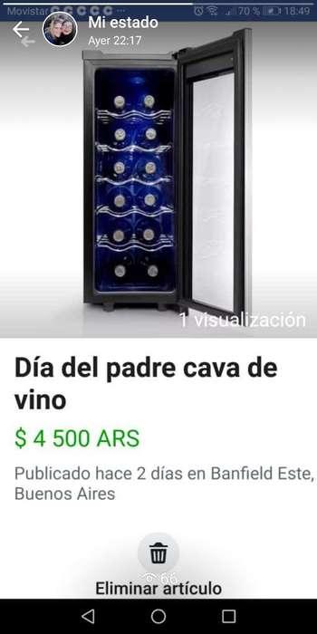 Cava de Vino Midea 12 Botellas