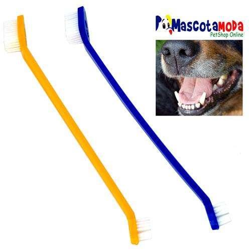 Cepillo de dientes limpieza dental para perros y cachorros dos diseños disponibles