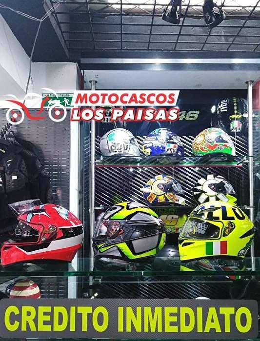 Casco Cerrado Agv para Moto