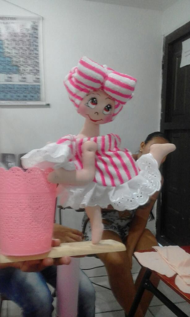 Vendo Muñeca de Adorno de Baño