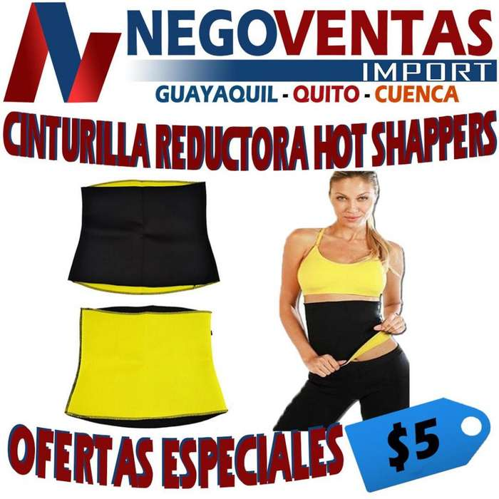 CINTURILLA REDUCTORA HOT SHAPPERS