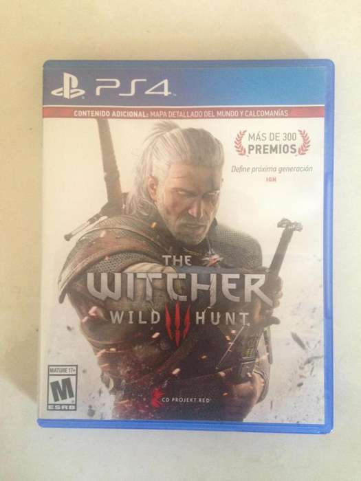 THE WITCHER 3 PS4 ECONÓMICO