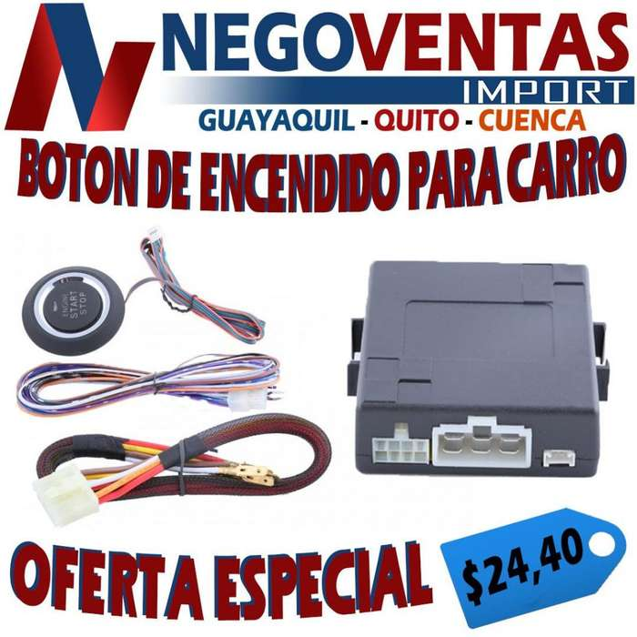 BOTÓN ENCENDIDO PARA CARROS PRECIO OFERTA 24.40