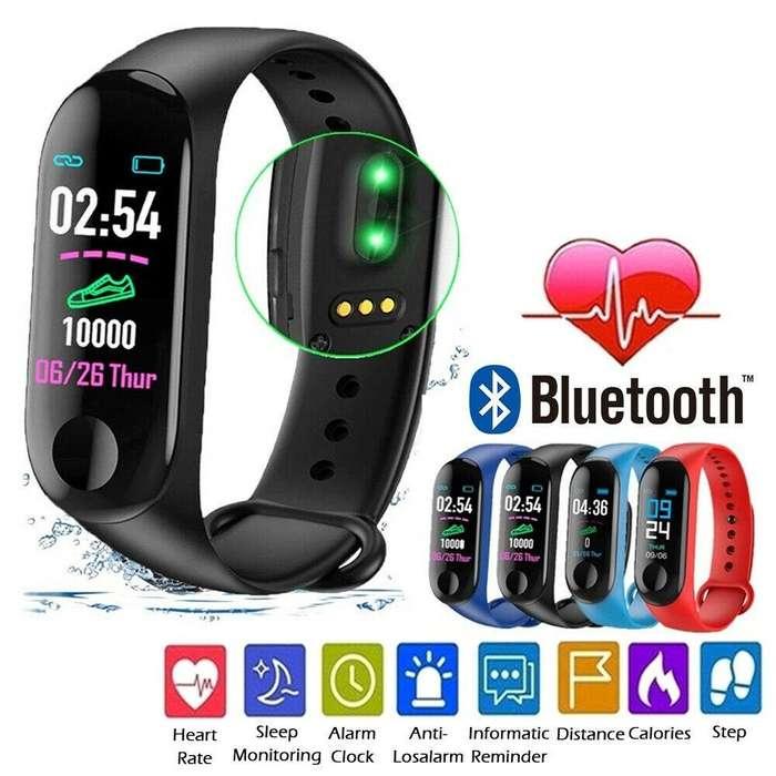 Reloj Smart Watch Band Inteligente Celular Deportivo Fitnes