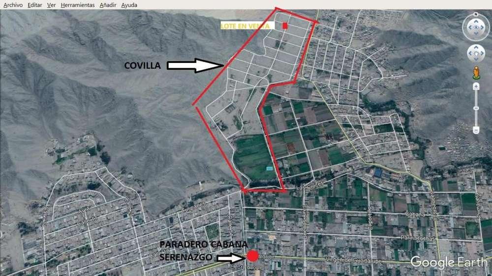 Terreno en Esquina Area 340m2 en Carapongo