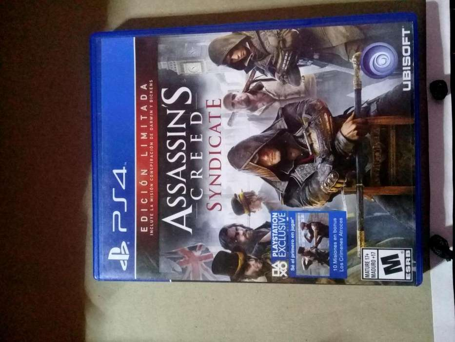 Assassins Creed Syndicate Ps4 Fisico