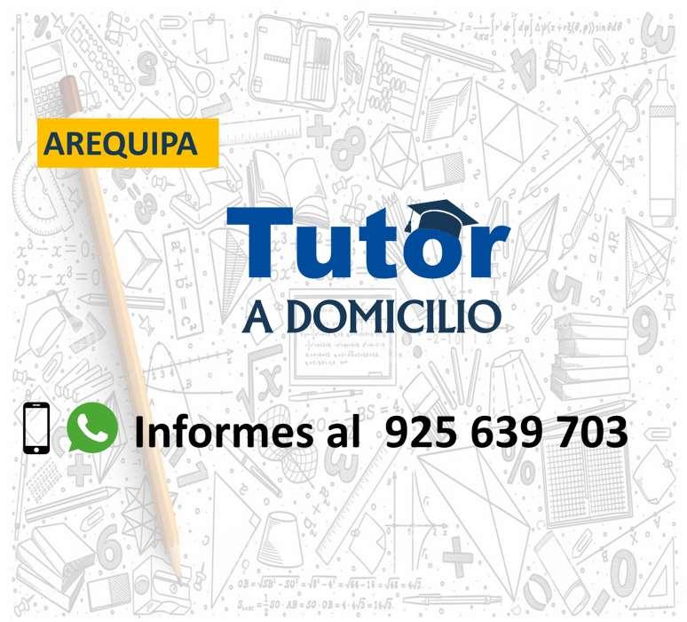 Profesor de matemática a domicilio, Arequipa, 925639703.