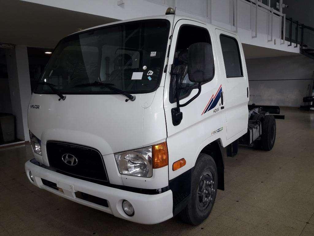 Hyundai Hd65 Cabina Doble 0km Ent/inme