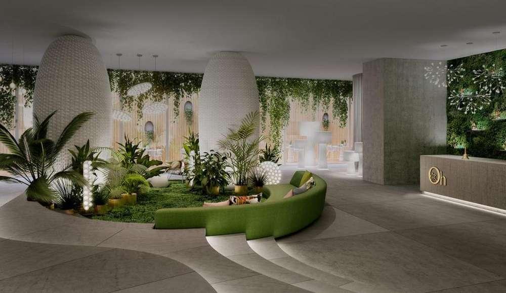 Venta Departamento de 51,57m ubicado en Quito/ Gonzalez Suarez/ La Paz en Edificio Oh Residencias