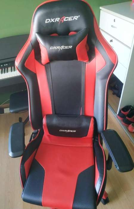 Silla Dxracer King Series Negro/rojo