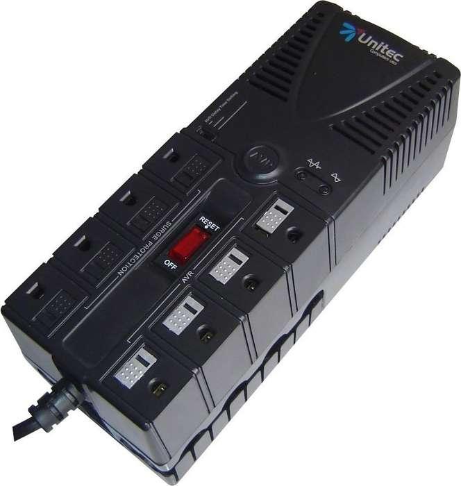 regulador se voltage unitec 8 tomas