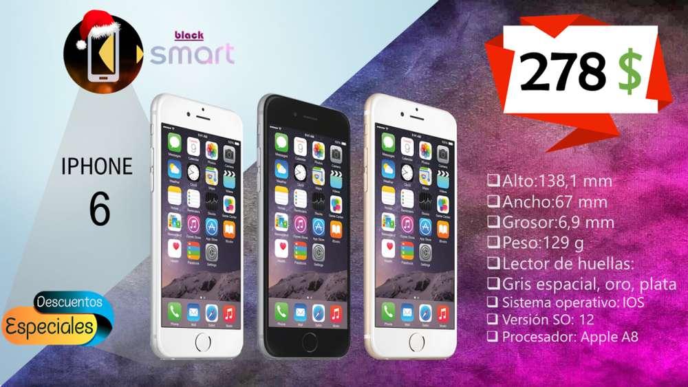 Iphone 6 6s 7 7 Plus Garantía, Pago Tarjeta, Mejor Precio