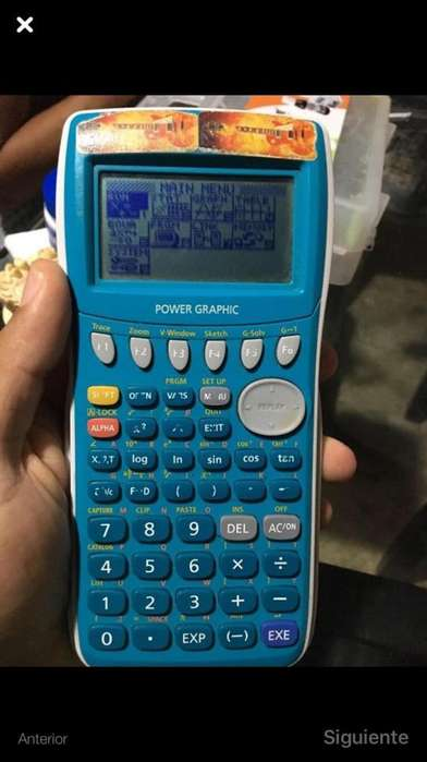 Calculadora Graficadora Casio Fx 7400Gii
