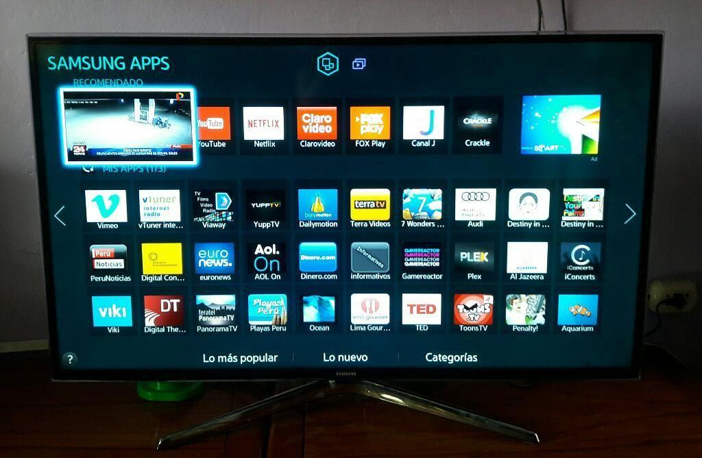 Televisor marca samsung. Smart. 40 pulgadas. Excelente estado 10 de 10. Delivery todo Lima, se hacen envios a provincia.