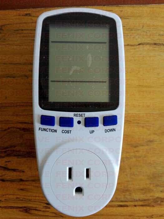 Contador Medidor De Energía Digital Portable Vatimetro