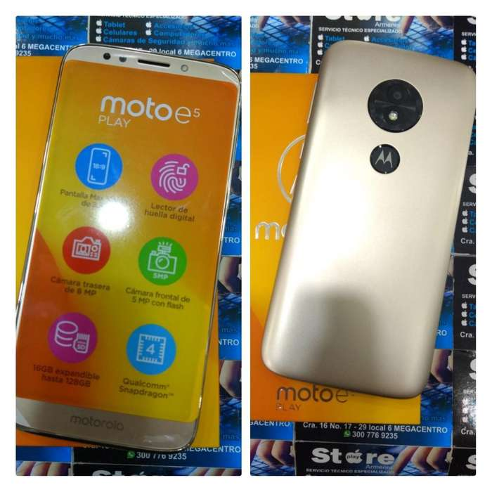 Moto E5 Play Nuevo