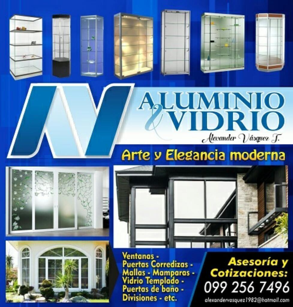 Aluminio Y Vidrio , Vitrinas, Muebles de Cocina, Ventanas ...