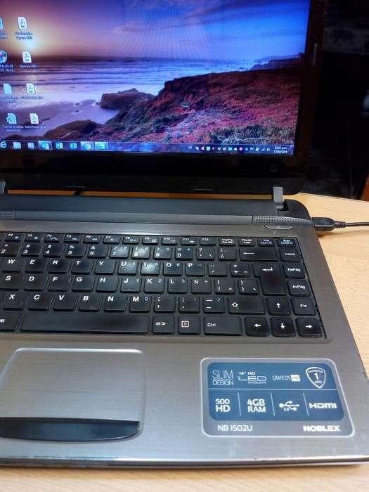 Vendo notebook Noblex 1502U-Windows 7