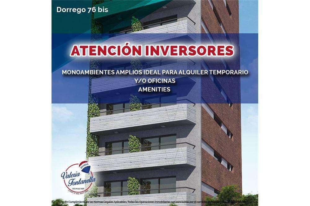 PREVENTA OFICINA/ESTUDIO PREMIUM DORREGO Y EL RIO