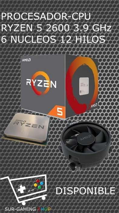 Cpu Amd Ryzen 5 2600 3.9ghz