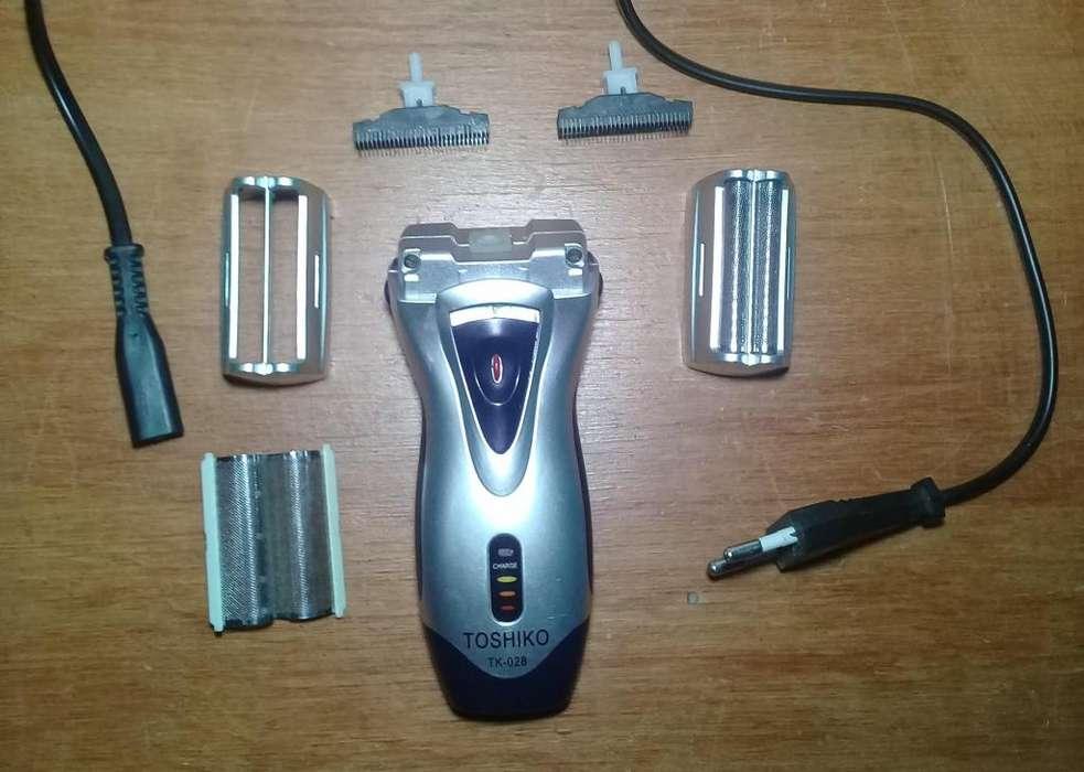 Afeitadora inalambrica recargable
