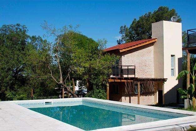 px72 - Cabaña para 2 a 6 personas con pileta y cochera en Rio Ceballos
