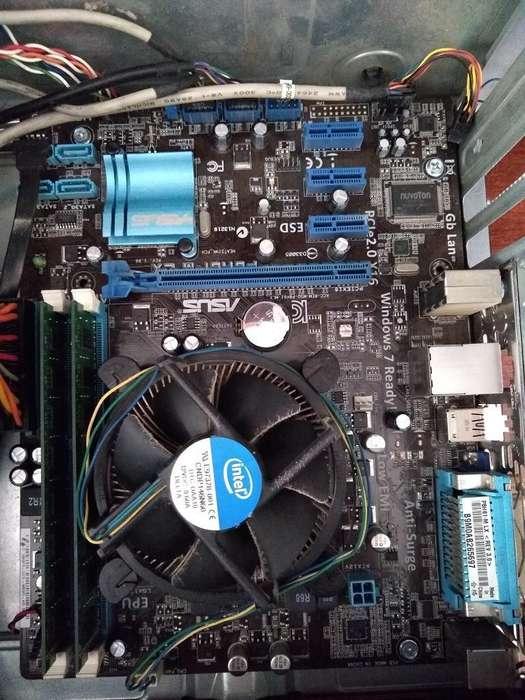 Board Y Procesador Core I5