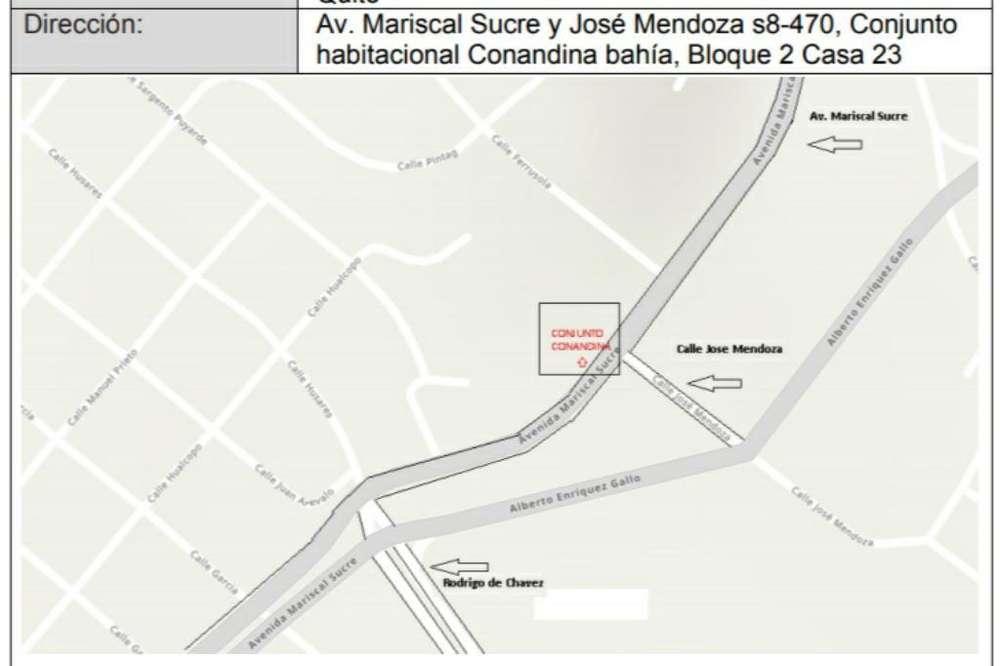 Arriendo Casa Av. Mariscal Sucre 2 Pisos