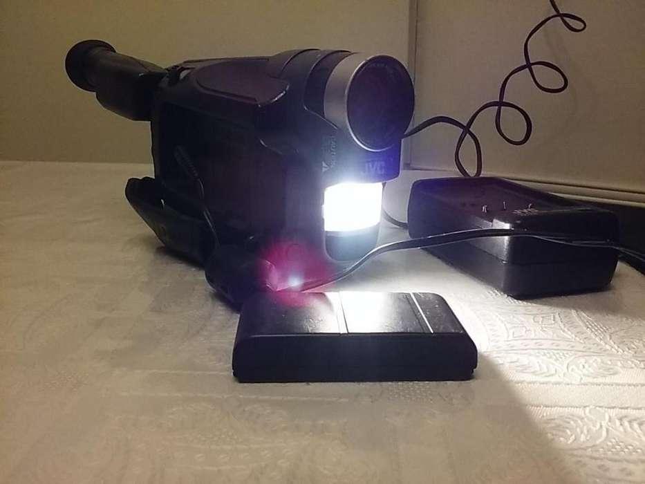 Video Camara Filmadora Jvc Gr-axm237 Vhs Completa Funcionando