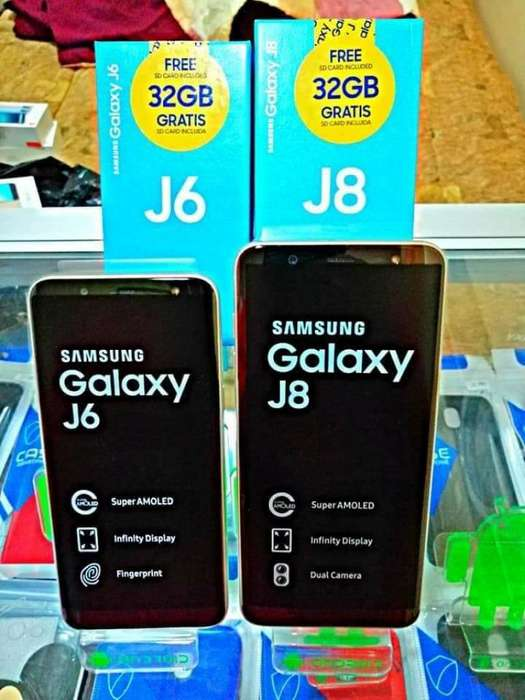 Samsung J8 Huawei Mate 20 L Xiaomi 6a