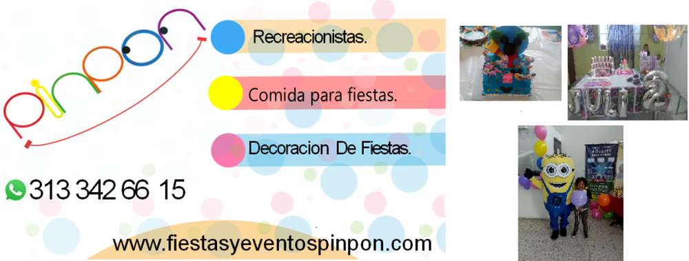 animadores de fiestas infantiles para bOGOTA LINEA 301 6872601