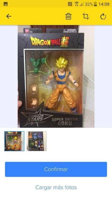 Goku Ss Muñeco Dragon Ball Super
