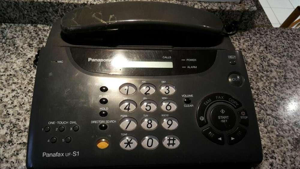 Telefono con <strong>fax</strong> Panasonic