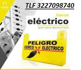 Cercas Eléctricas Instalación Reparación y mantenimiento en general tlf 3132687597