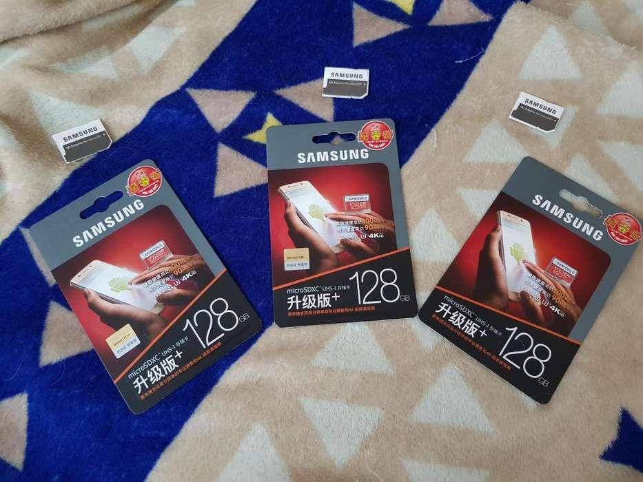 Tarjeta Micro Sd Samsung 128gb 4k Nueva Clase 10 U3